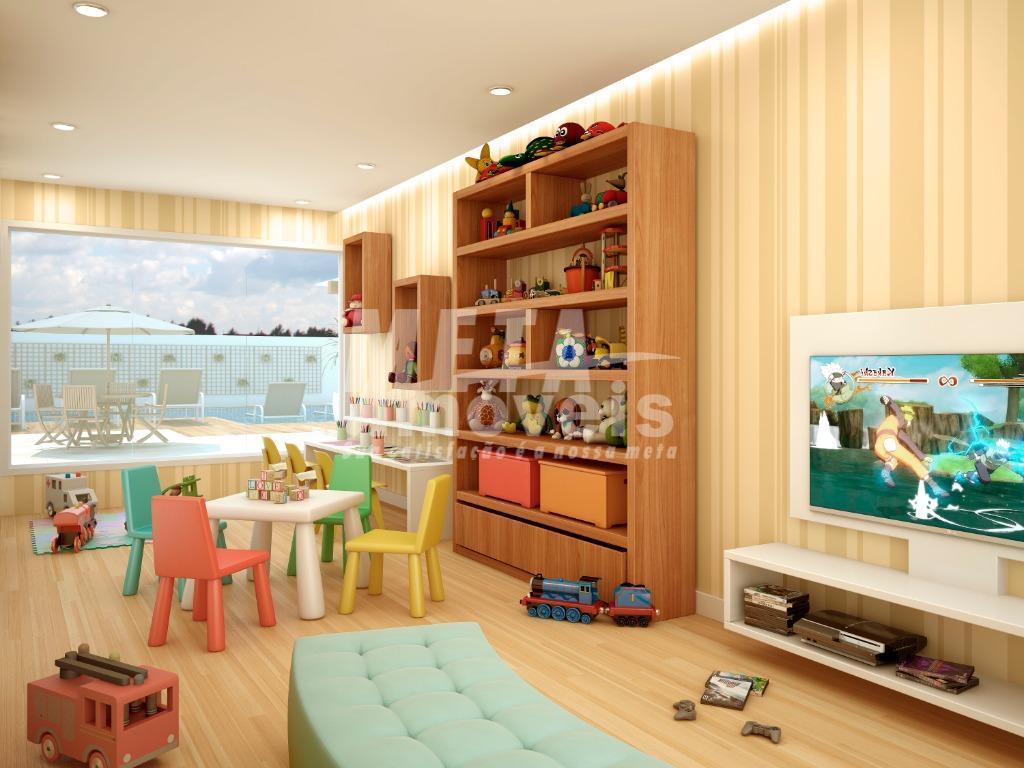 apartamento de 1 quarto, com sala, cozinha americana, área de serviço e uma sacada. com localização...