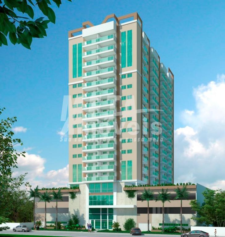 apartamento de 2 quartos sendo 1 suite, com sala, cozinha americana, área de serviço e uma...