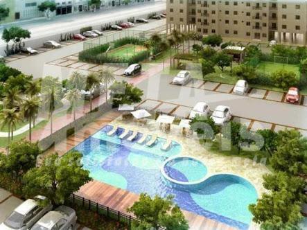 Apartamento com 2 dormitórios à venda, 53 m² por R$ 210.000 - Parque Santo Amaro - Campos dos Goytacazes/RJ