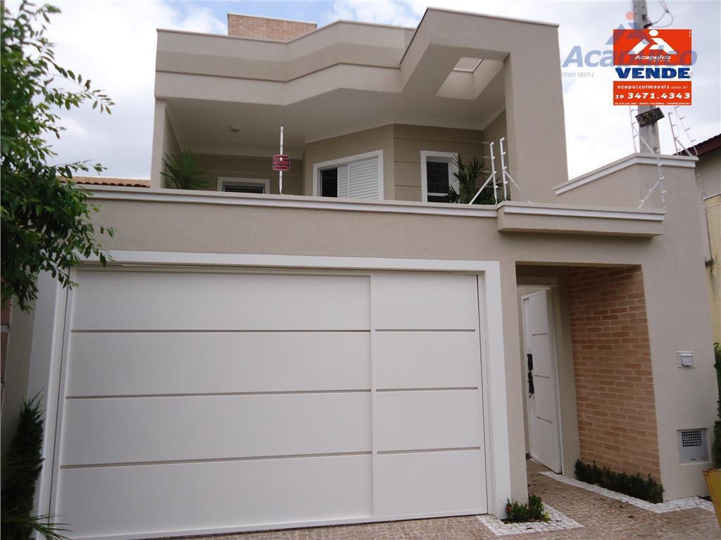 Sobrado residencial à venda, Jardim Ipiranga, Americana - SO0094.