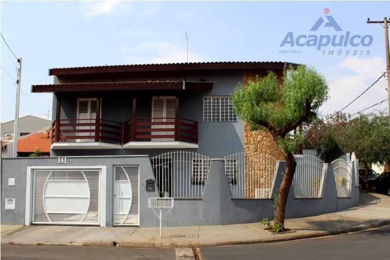 Sobrado residencial à venda, Jardim Nossa Senhora de Fátima, Nova Odessa - SO0249.