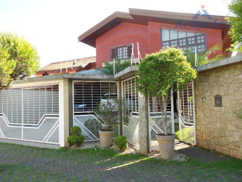 Casa residencial à venda, Vila Nossa Senhora de Fátima, Americana - CA1159.