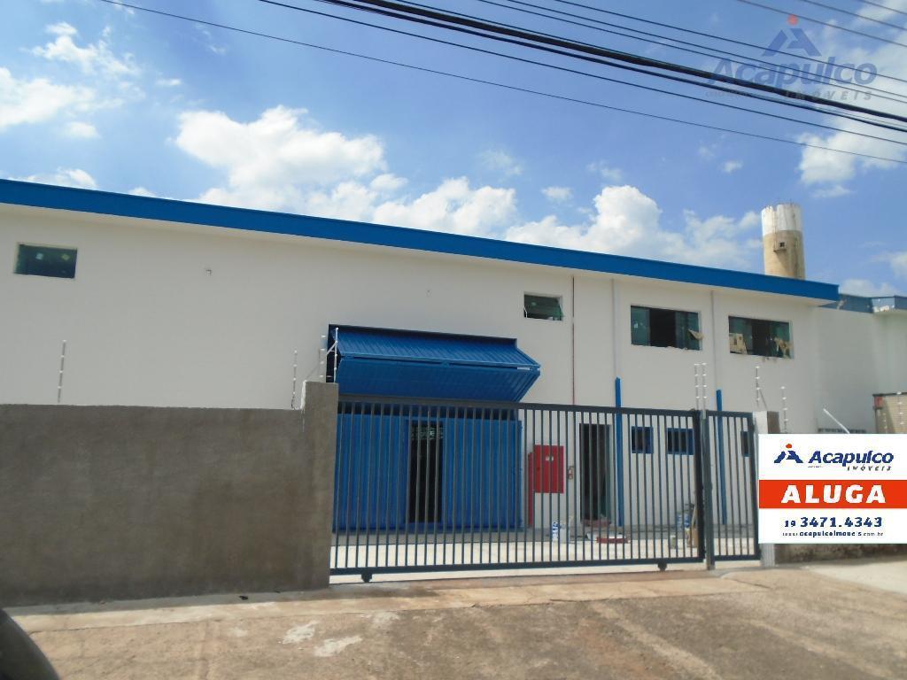 Galpão industrial para locação, Loteamento Industrial Nossa Senhora de Fátima, Americana - GA0090.