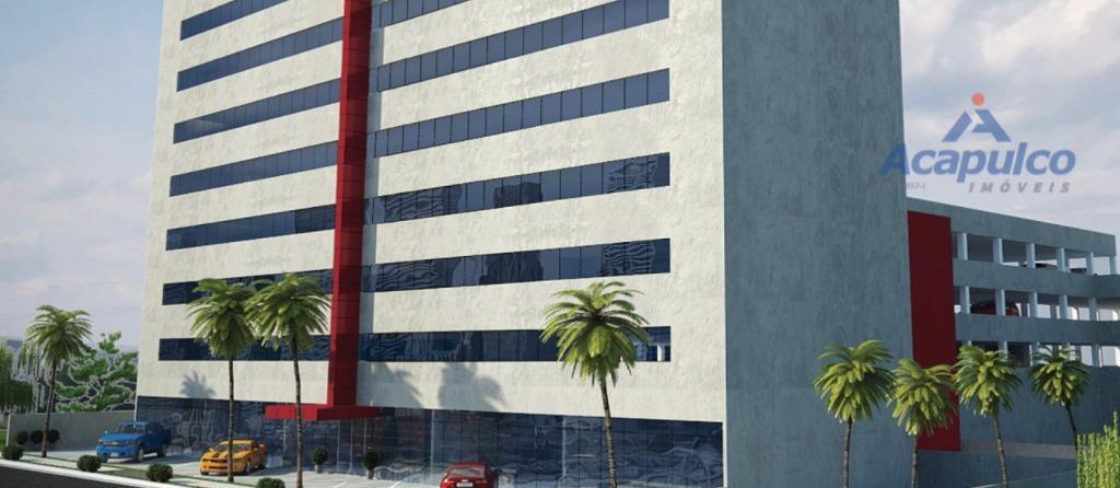 Sala comercial para locação, Centro, Americana - SA0293.