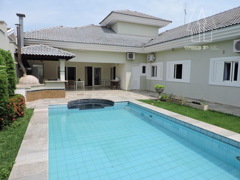 Casa residencial à venda, Condomínio Habiana, Araçatuba.