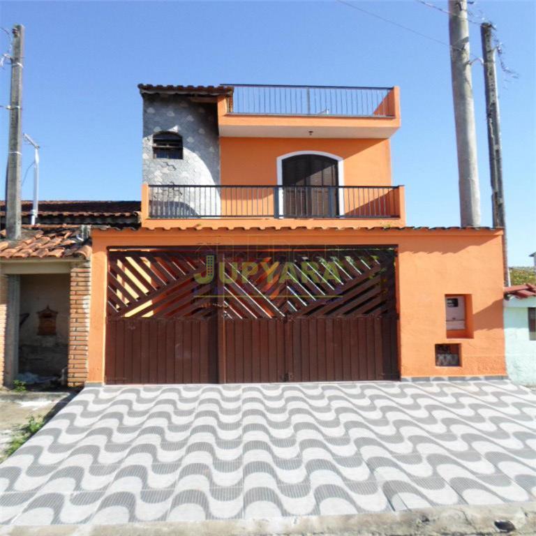 Sobrado residencial à venda, Balneário Itaguaí, Mongaguá - SO0064.