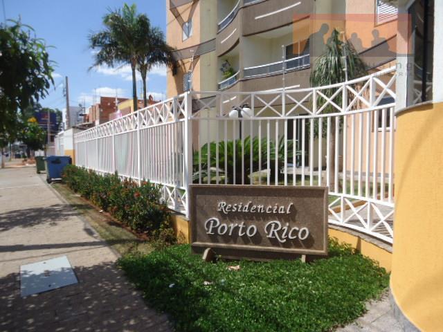 Apartamento  residencial à venda, Residencial Porto Rico, Paulínia.