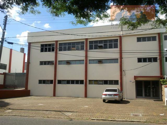 Prédio  comercial para venda e locação, Jardim Santa Genebra, Campinas.