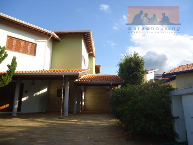 Casa  residencial para venda e locação, Condomínio Residencial Barão do Café, Campinas.