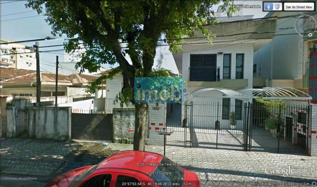 Terreno  residencial à venda, Embaré, Santos.