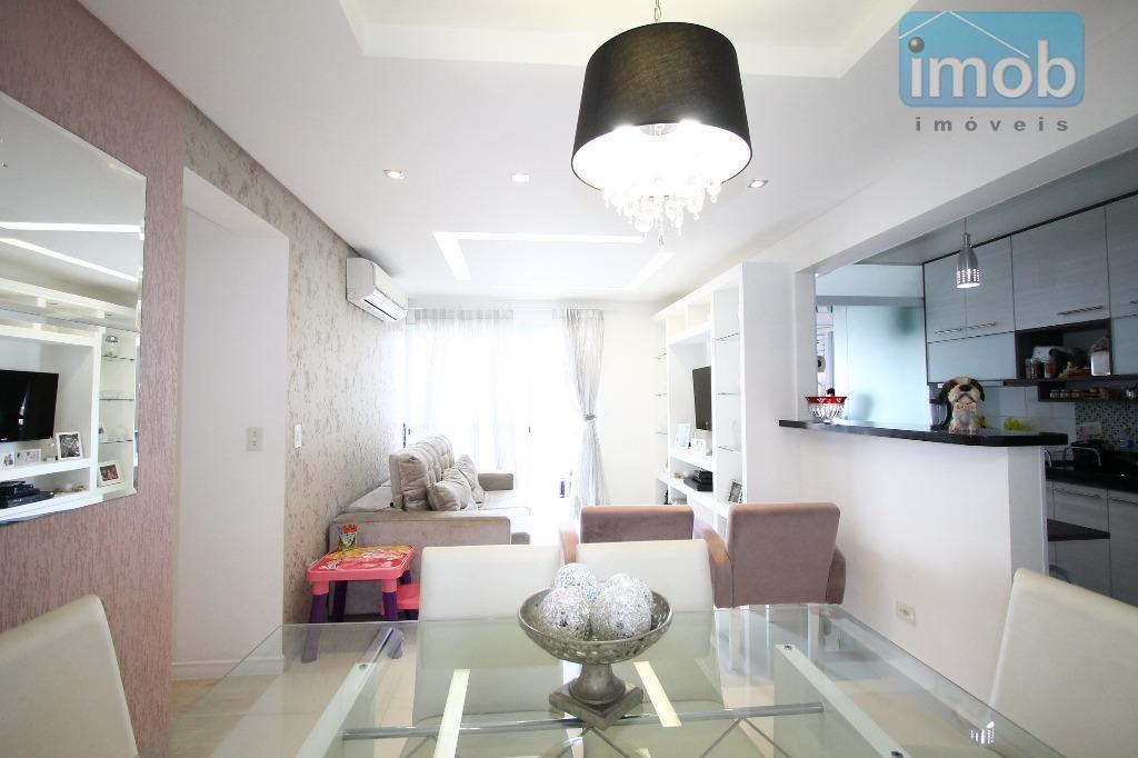 Apartamento residencial à venda, Encruzilhada, Santos.