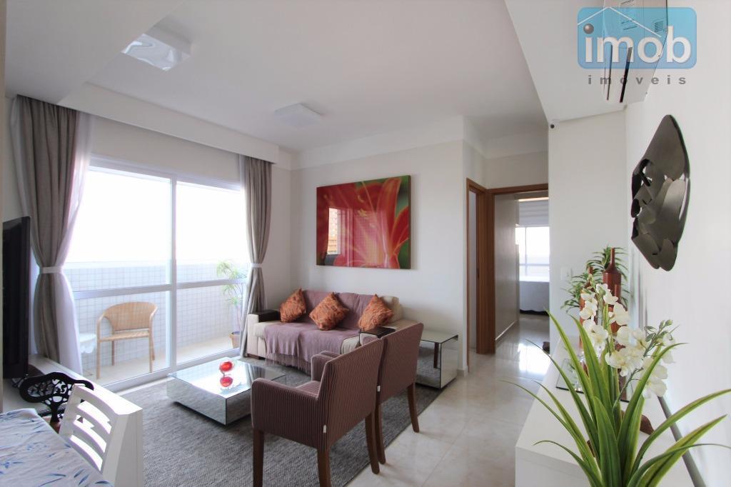 Porteira Fechada, apartamento com 2 suítes à venda no Gonzaga, Santos.