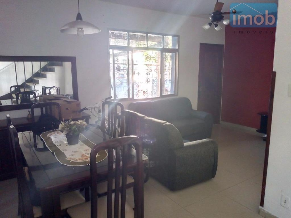 Sobrado residencial à venda, Vila Matias, Santos - SO0410.