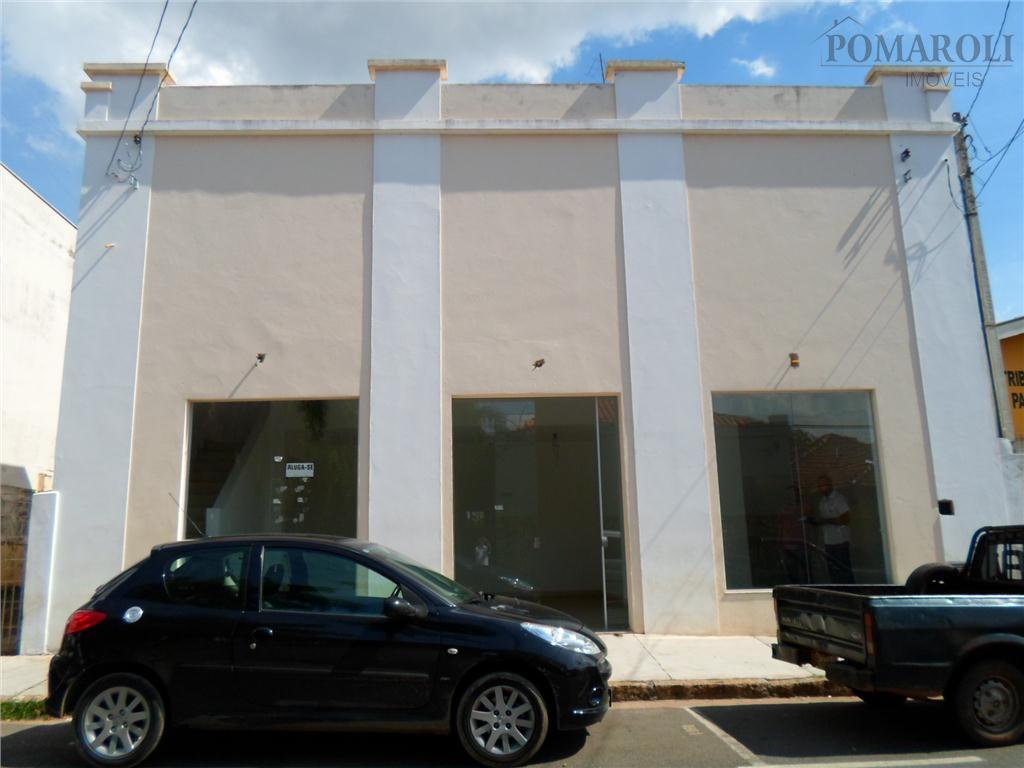 Salão comercial para locação, Centro, Santa Bárbara D'Oeste.