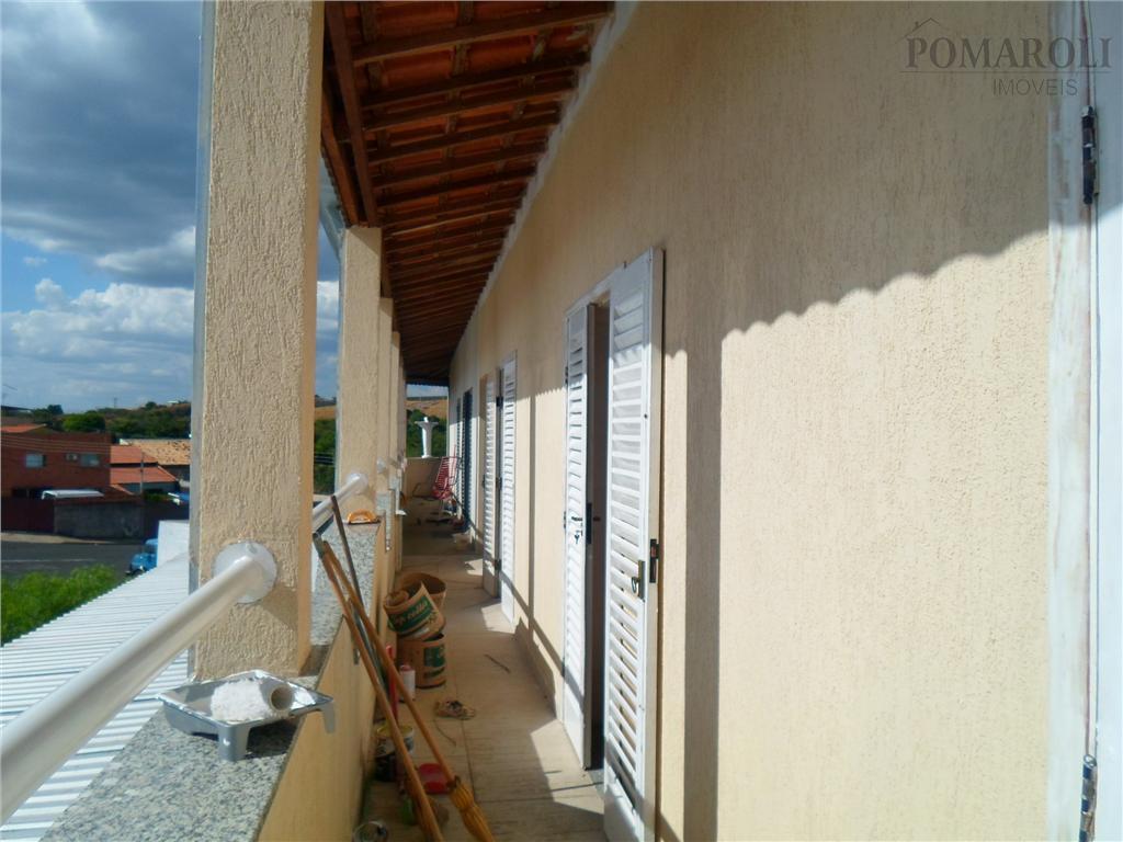 Sobrado residencial para locação, Residencial Parque Rochele II, Santa Bárbara D'Oeste - SO0043.