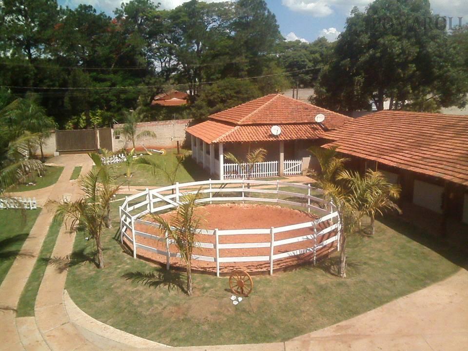 Chácara rural à venda, Recreio Alvorada, Santa Bárbara D'Oeste.