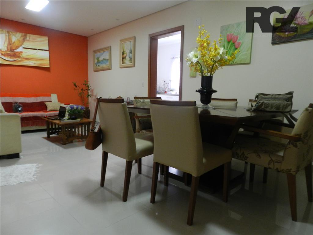 Casa residencial à venda, Ponta da Praia, Santos - CA0008.