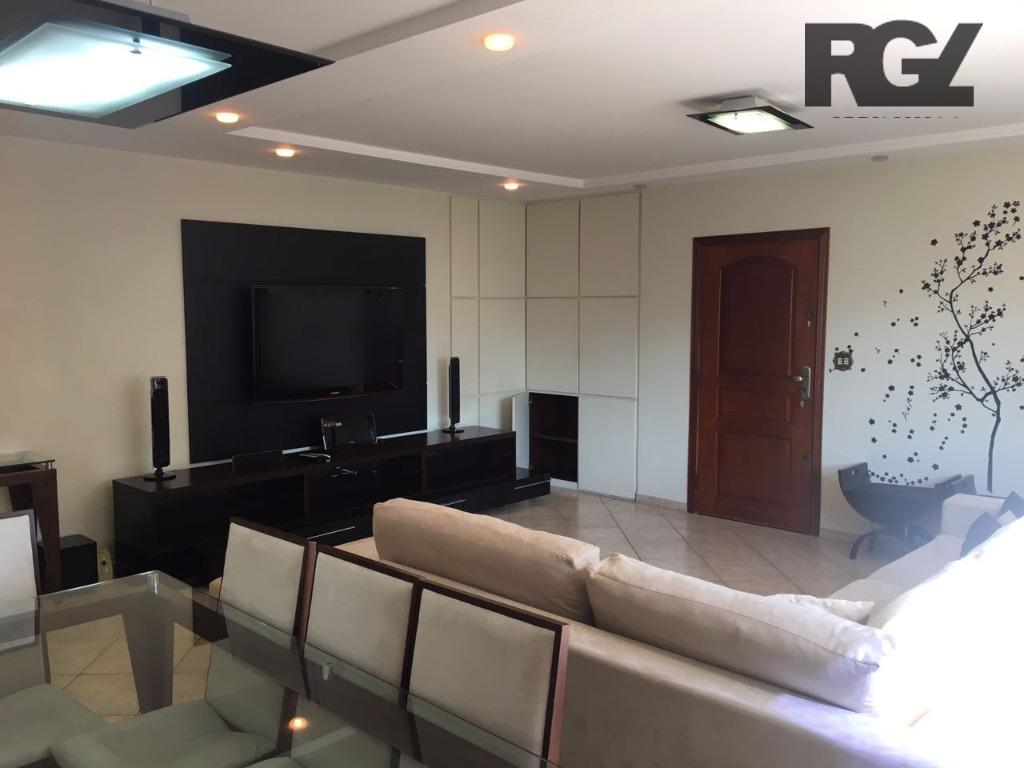 Apartamento de 3 dormitórios à venda em Ponta Da Praia, Santos - SP