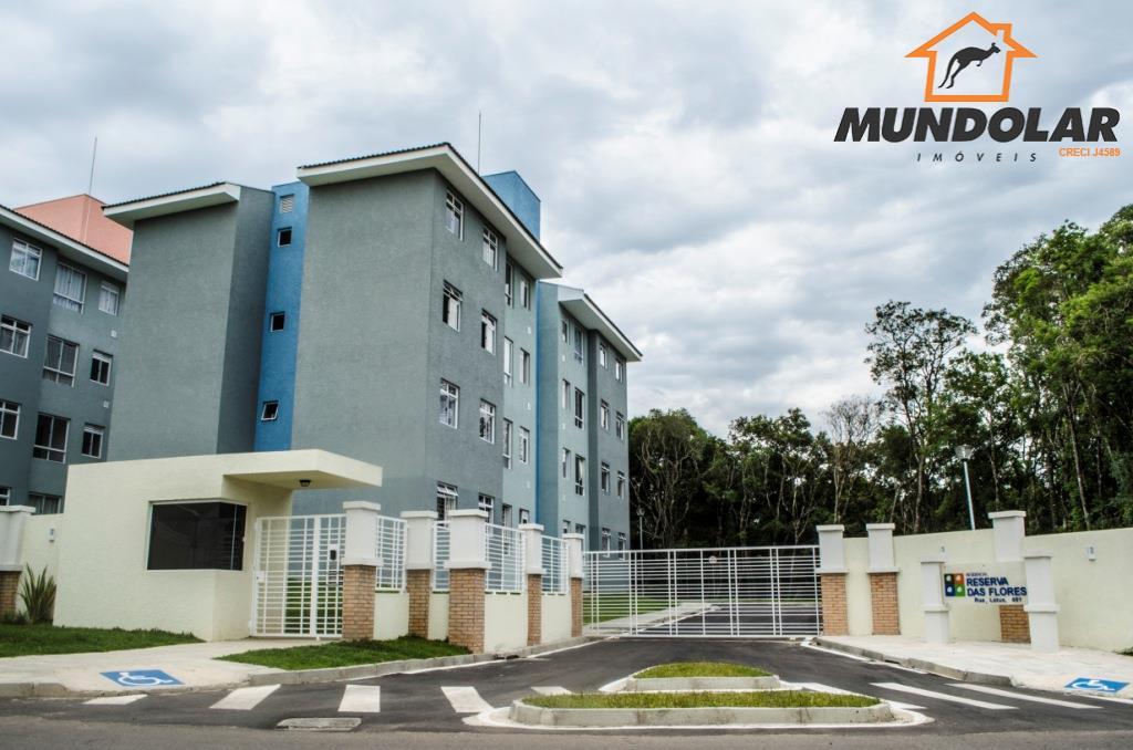 Apartamento  residencial para locação, Campina da Barra, Araucária.