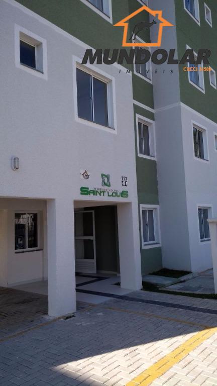 Apartamento residencial à venda, Cachoeira, Araucária.