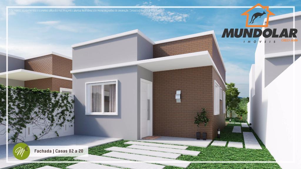 Casa residencial à venda, Capela Velha, Araucária - CA1289.