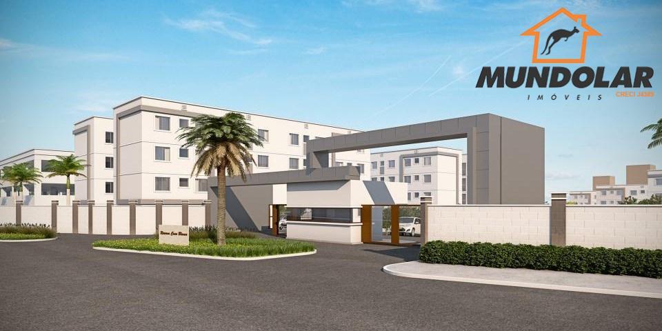 Apartamento residencial à venda, Colônia Rio Grande, São José dos Pinhais - AP1581.