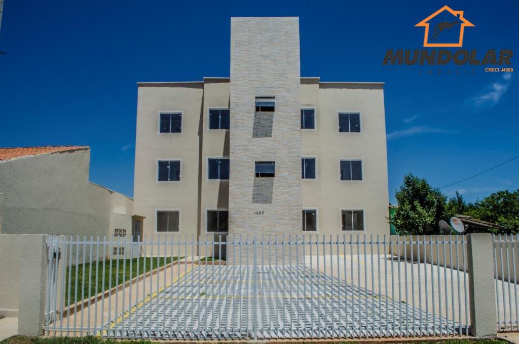 Apartamento residencial à venda, Fazenda Velha, Araucária - AP1651.