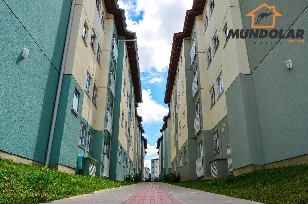 Apartamento residencial para locação, Capela Velha, Araucária.