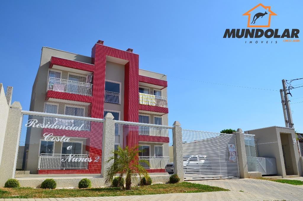 Apartamento residencial à venda, Tindiquera, Araucária.