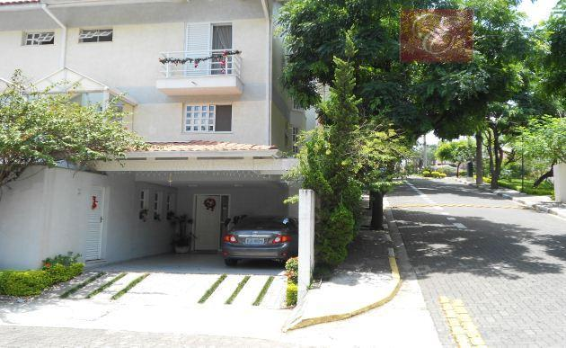 Sobrado residencial à venda, Aldeia da Granja, Cotia - SO0745.