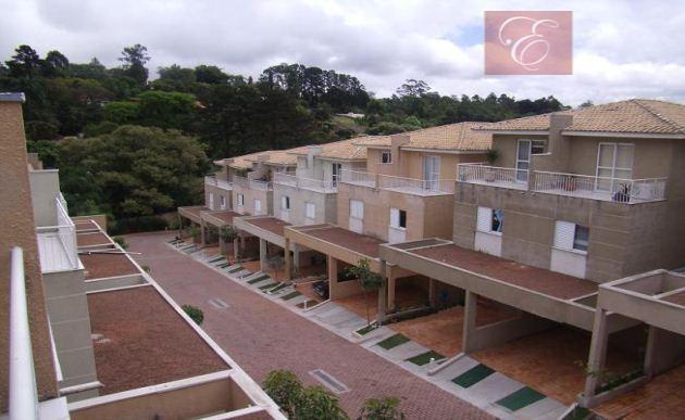 Sobrado residencial à venda, Boulevard Granja Viana, Cotia - SO0437.