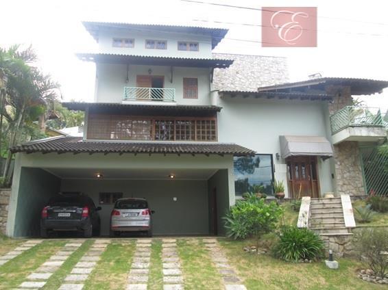 Sobrado  residencial para venda e locação, Colinas de São Fernando, Cotia.