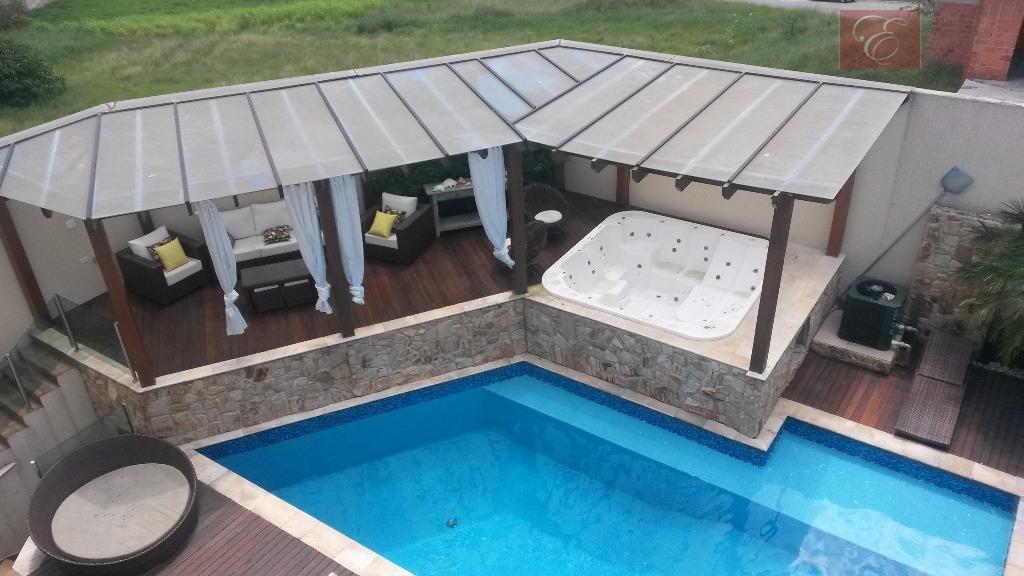 Sobrado  residencial à venda, Reserva Santa Maria, Jandira.