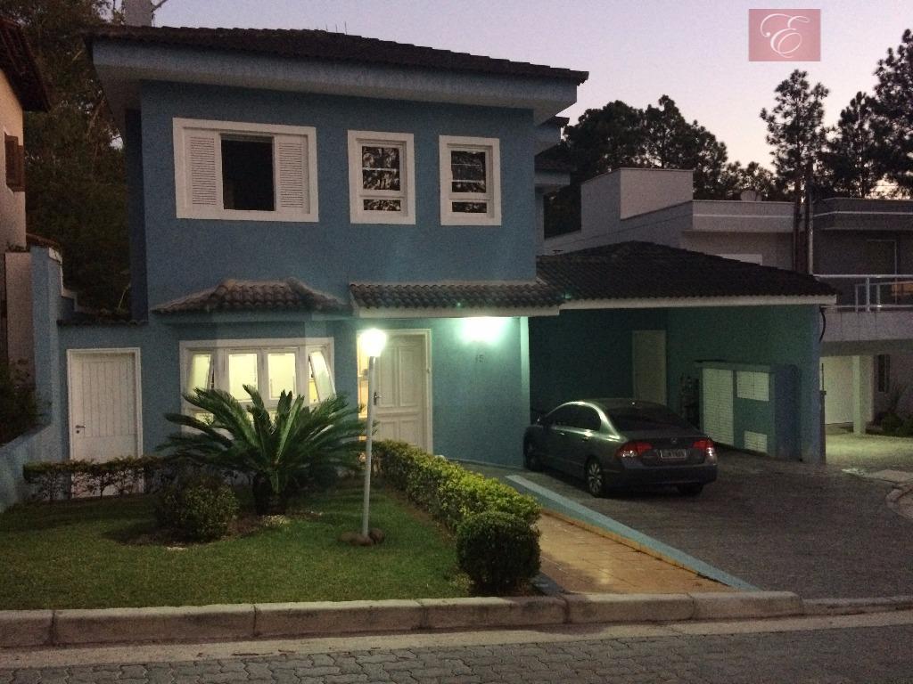 Sobrado  residencial para locação, Residence Plaza, Cotia.