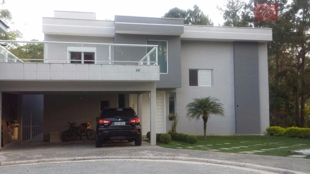 Sobrado residencial à venda, Residence Plaza, Cotia.