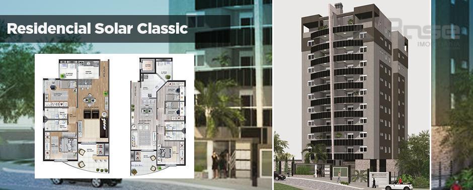 Solar Classic, Apartamento residencial à venda, Lurdes, Caxias do Sul, Base Imobiliária.