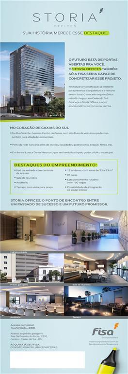 Sala comercial à venda, Centro, Caxias do Sul.
