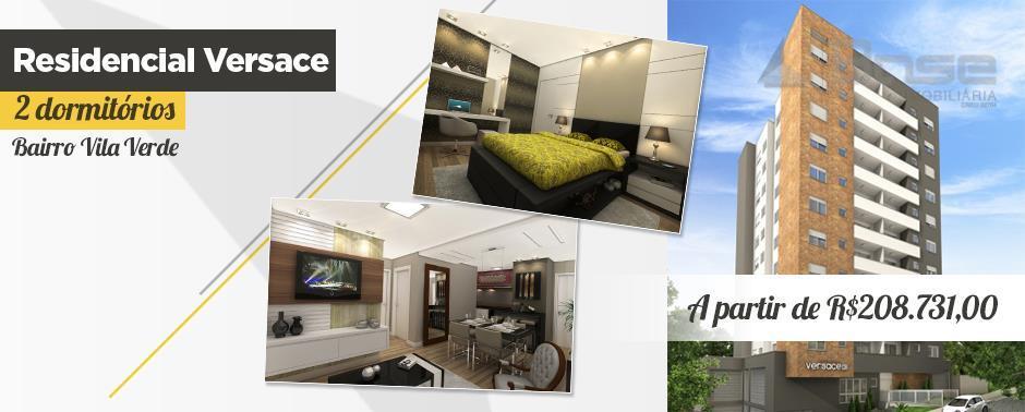 Residenziale Versace, apartamento residencial à venda, Vila Verde, Caxias do Sul, Base Imobiliária.