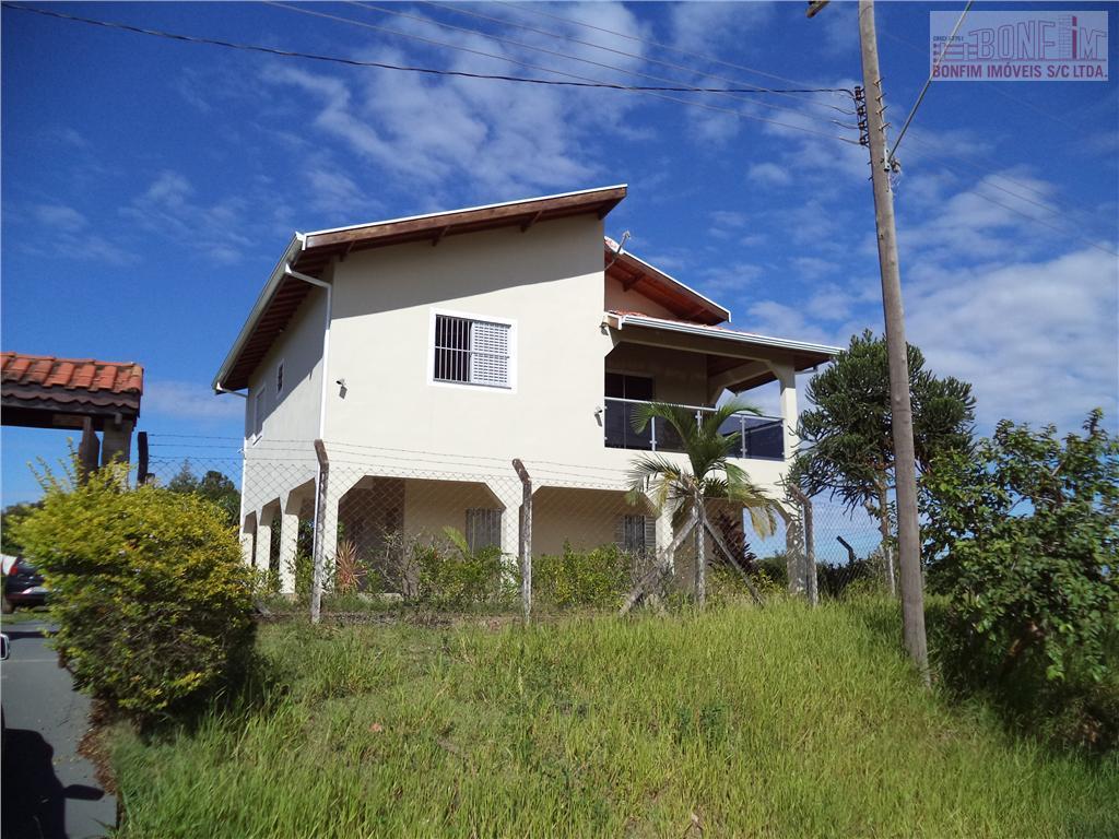 Sobrado residencial para venda e locação, Chácaras Recreio San Remo, Cosmópolis.
