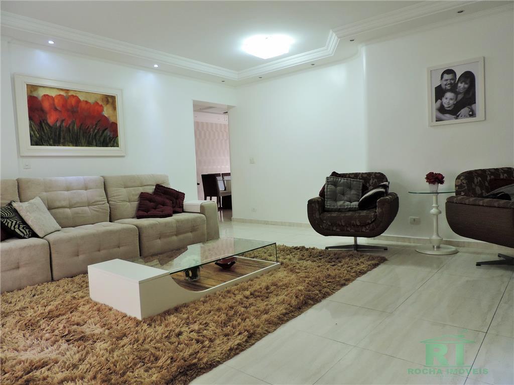 Apartamento residencial à venda, Praia do Tombo, Guarujá.