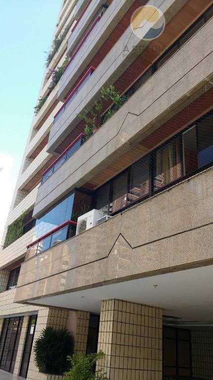 Apartamento com 04 suítes à venda, 180m², Meireles, Fortaleza - AP1717.