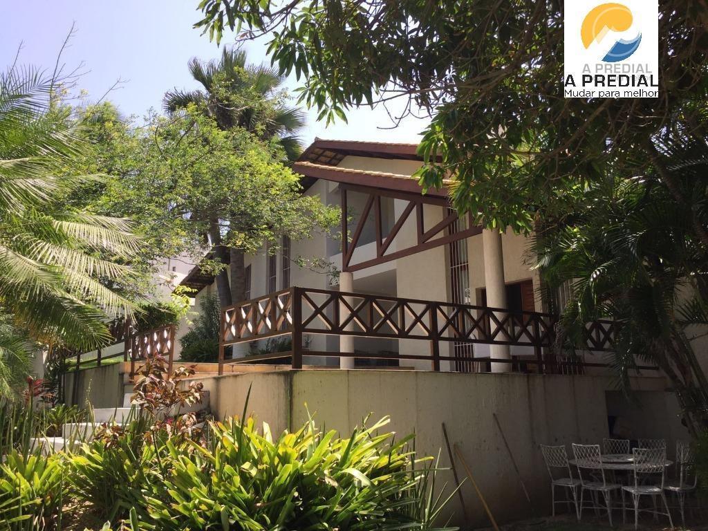 ((((( MANSÃO TRIPLEX ))))) Linda  casa mobiliada à venda, 419,30 m² de área construída ,Dunas, Fortaleza.