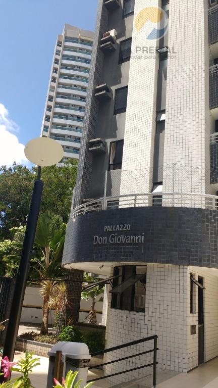((((((((((OPORTUNIDADE)))))))))) Apartamento residencial à venda, Cocó, Fortaleza - AP1935.