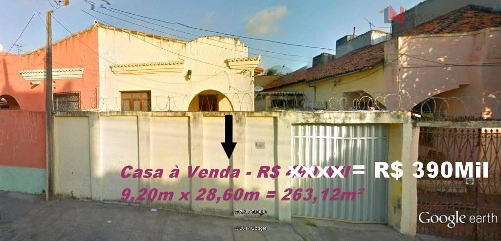 R$ 450 mil - Casa Plana  - Agapito dos Santos