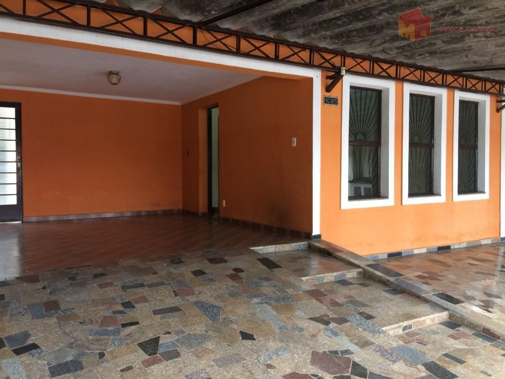 Casa residencial para locação, Residencial Jacira, Americana.