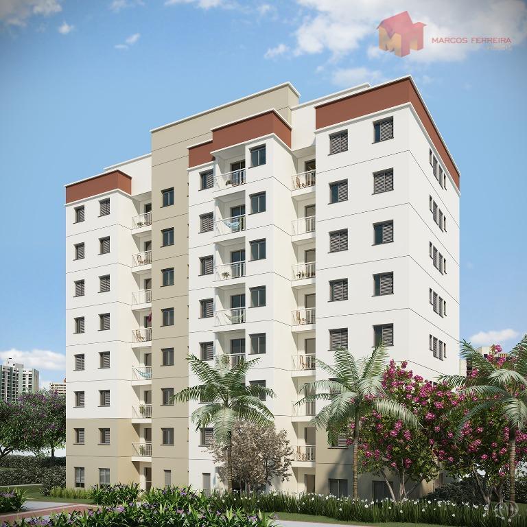 Apartamento residencial à venda, Jardim Paulistano, Americana.