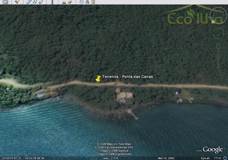 Costeira  à venda, Ponta das Canas, Ilhabela.