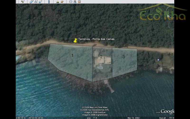 Terreno residencial à venda, Ponta das Canas, Ilhabela.