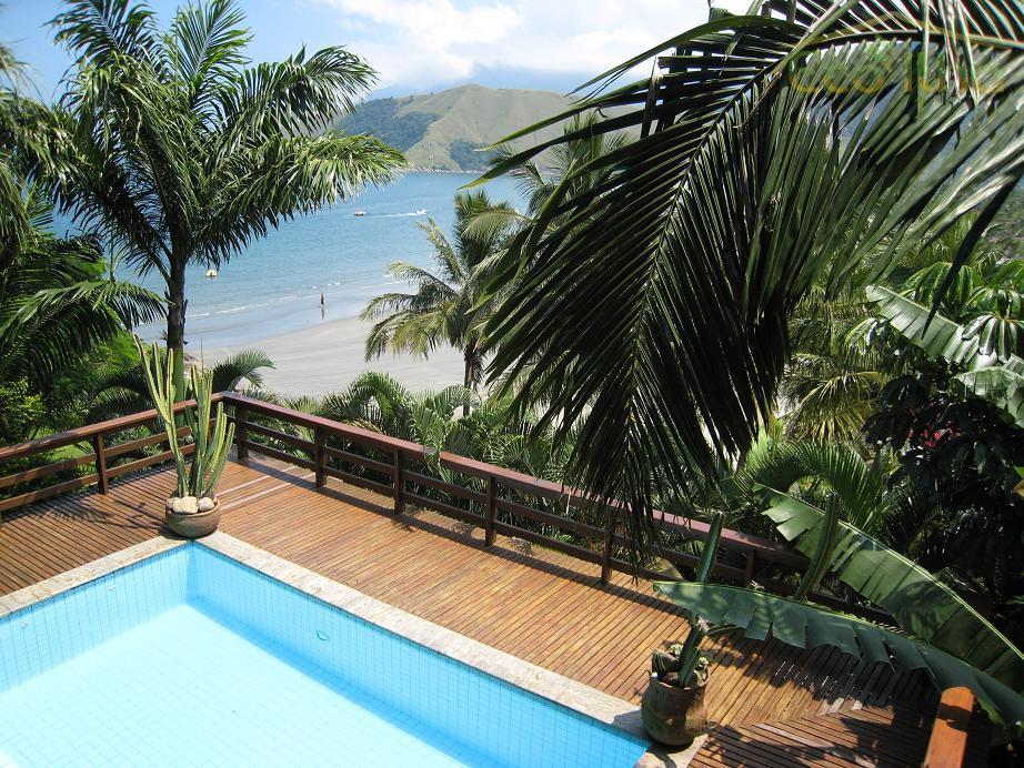 Casa  residencial para venda e locação, Praia de Barequeçaba, São Sebastião.