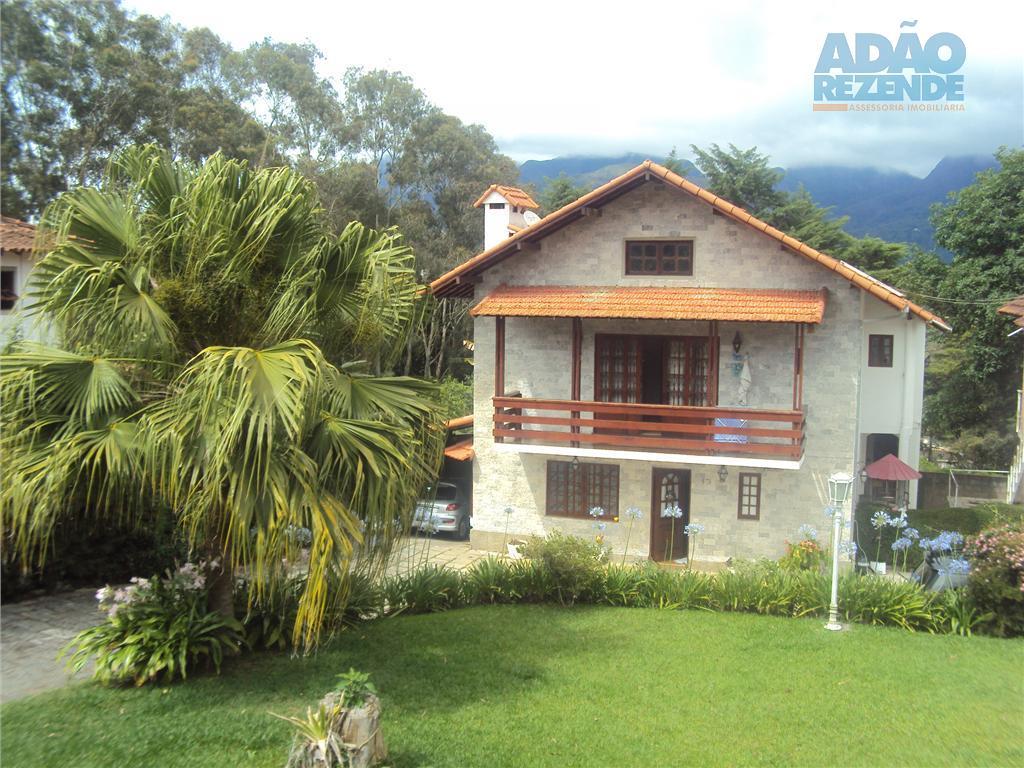Casa residencial à venda, Quinta da Barra, Teresópolis.